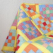 """Для дома и интерьера ручной работы. Ярмарка Мастеров - ручная работа Детское одеяло """"Разноцветные сны"""". Handmade."""