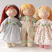 Куклы и игрушки ручной работы. Ярмарка Мастеров - ручная работа Дружные ребятки, игровые куколки. Handmade.