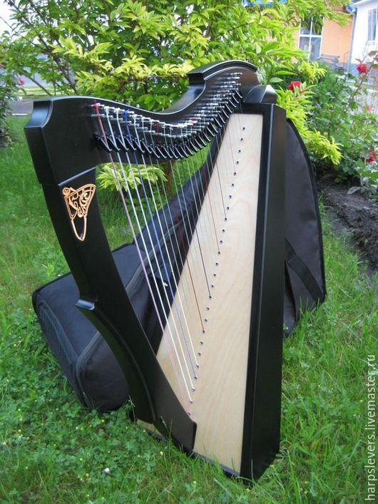 """Струнные инструменты ручной работы. Ярмарка Мастеров - ручная работа. Купить Арфа кельтская """"Limerick"""". Handmade. Арфа, берёза"""