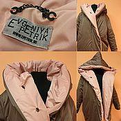 "Down jackets handmade. Livemaster - original item Пуховик-кокон ""Облако нежности"". Handmade."
