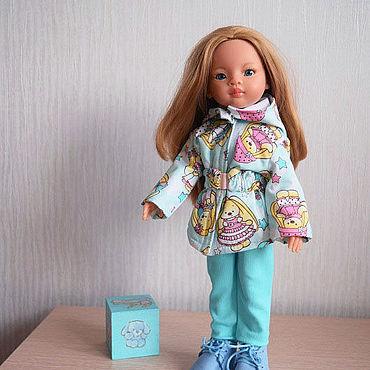 Куклы и игрушки ручной работы. Ярмарка Мастеров - ручная работа Зайки. Одежда для куклы Паола Рейна. Handmade.
