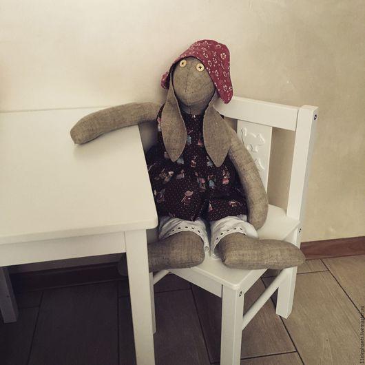 Куклы Тильды ручной работы. Ярмарка Мастеров - ручная работа. Купить Заяц Тильда. Handmade. Заяц, заяц игрушка