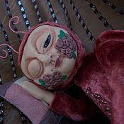 Куклы и игрушки ручной работы. Ярмарка Мастеров - ручная работа Тэдди -долл. Игрушка-букашка, блошка Цветочная жрушка Леля.. Handmade.