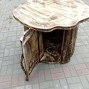Столы ручной работы. Ярмарка Мастеров - ручная работа Стол пень. Handmade.