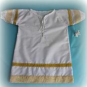 Работы для детей, ручной работы. Ярмарка Мастеров - ручная работа Крестильное рубаха. Handmade.