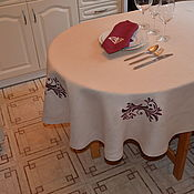 Для дома и интерьера handmade. Livemaster - original item Linen tablecloth
