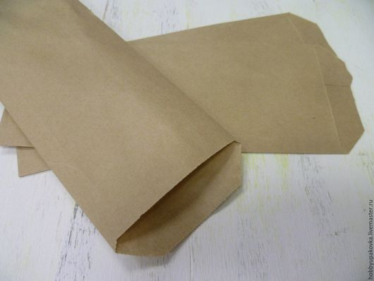 Упаковка ручной работы. Ярмарка Мастеров - ручная работа. Купить Крафт-пакет  8х22 см -упаковка сувениров. Handmade. Пакет