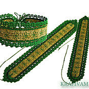 Украшения handmade. Livemaster - original item Bracelet Krapivka. Handmade.