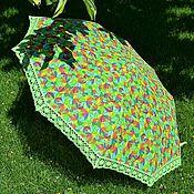 """Аксессуары ручной работы. Ярмарка Мастеров - ручная работа зонт от солнца (складной) """"Семицвет"""". Handmade."""