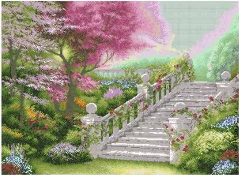 Райский сад.