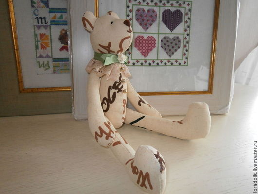 Куклы Тильды ручной работы. Ярмарка Мастеров - ручная работа. Купить Мишки. Handmade. Мишки, холофайбер, тильда кукла