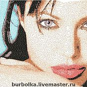 Картины и панно ручной работы. Ярмарка Мастеров - ручная работа Вышитый портрет по фотографии. Handmade.