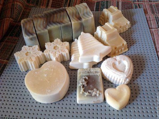 Мыло ручной работы. Ярмарка Мастеров - ручная работа. Купить Натуральное мыло ручной работы с нуля. Handmade. Белый