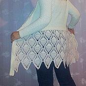 """Одежда ручной работы. Ярмарка Мастеров - ручная работа Кардиган """"Ели в снегу"""". Handmade."""