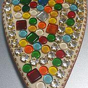 """Подарки к праздникам ручной работы. Ярмарка Мастеров - ручная работа Мозаика """"Радость в сердце"""". Handmade."""