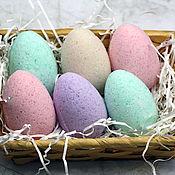 Косметика ручной работы handmade. Livemaster - original item Bath bombs set Egg. Handmade.