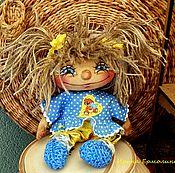 Мягкие игрушки ручной работы. Ярмарка Мастеров - ручная работа Домовушка - куколка-помощница в хозяйстве. Handmade.