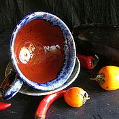 Посуда ручной работы. Ярмарка Мастеров - ручная работа Шоколадная черника Хюгге. Handmade.
