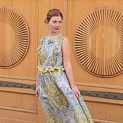 """Одежда ручной работы. Ярмарка Мастеров - ручная работа Макси-платье """"Богиня Нила"""". Handmade."""