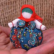 Народная кукла ручной работы. Ярмарка Мастеров - ручная работа Кубышка-травница с мятой и чабрецом. Народная ароматическая кукла.. Handmade.