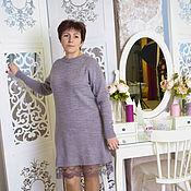 Материалы для творчества handmade. Livemaster - original item Master class on knitting dress Ethel. Handmade.