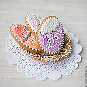 Сувениры и подарки handmade. Livemaster - original item Gingerbread Easter Filigrane. Handmade.