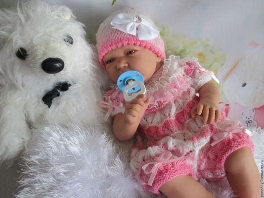Куклы-младенцы и reborn ручной работы. Ярмарка Мастеров - ручная работа. Купить Малышенька,деточка 55см. Handmade. Бежевый, кукла