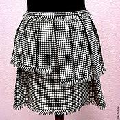 Одежда ручной работы. Ярмарка Мастеров - ручная работа Авторская юбка с бахромой. Handmade.
