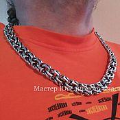"Украшения handmade. Livemaster - original item Chain ""BiG Bismarck"" sterling silver 925. Handmade."