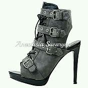 Обувь ручной работы handmade. Livemaster - original item Ankle boots. Handmade.
