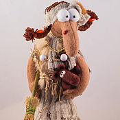 """Русский стиль ручной работы. Ярмарка Мастеров - ручная работа Баба -Яга """"Купила баба коника.."""".. Handmade."""