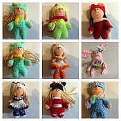 Куклы и игрушки ручной работы. Ярмарка Мастеров - ручная работа Маленькие вязаные игрушки. Handmade.