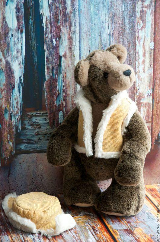 Мишки Тедди ручной работы. Ярмарка Мастеров - ручная работа. Купить Тедди мишка Топтыгин. Handmade. Серый, мутон