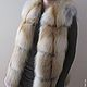 Jacket with fur Siberian red Fox. Solid. Vests. Zimma. Online shopping on My Livemaster. Фото №2