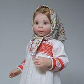 Куклы и игрушки handmade. Livemaster - original item Girl. Handmade.