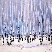 Картины и панно handmade. Livemaster - original item Ural birch. Handmade.