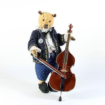 Dolls & toys handmade. Livemaster - original item Bear George. Handmade.