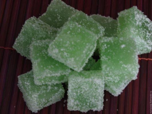 """Скраб ручной работы. Ярмарка Мастеров - ручная работа. Купить Сахарный скраб """"Мятный"""". Handmade. Зеленый, мыло-скраб"""