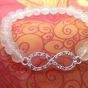 Украшения handmade. Livemaster - original item bracelet rutilated quartz. quartz rutilated. Hair Of Venus. Handmade.