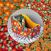 Для дома и интерьера ручной работы. Ярмарка Мастеров - ручная работа Короб для специй. Картонаж. Handmade.