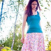 Одежда ручной работы. Ярмарка Мастеров - ручная работа Невесомая юбка в пол. Handmade.