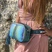 Сумки и аксессуары handmade. Livemaster - original item Stali Python leather handbag. Handmade.