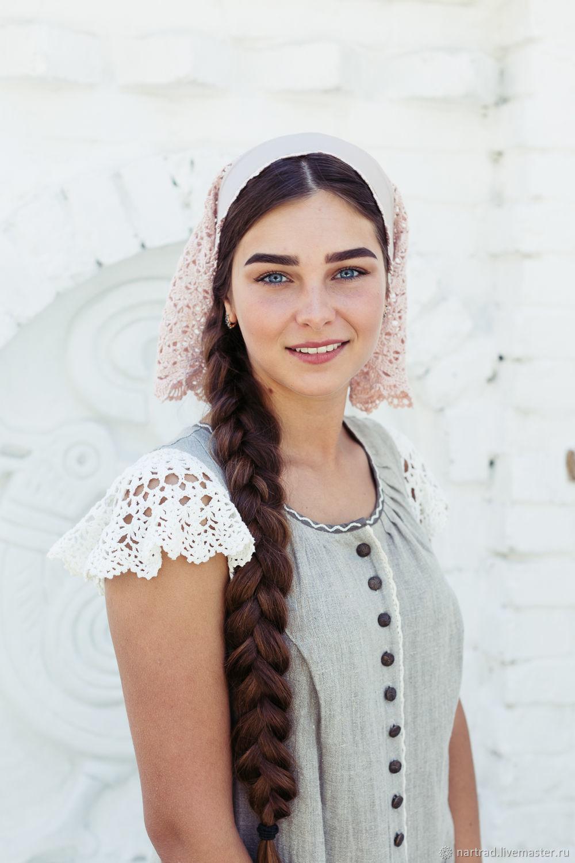 Headdress female, Russian style, Bandage, Anapa,  Фото №1