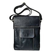 Сумки и аксессуары handmade. Livemaster - original item men`s leather bag. Handmade.
