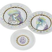 Посуда handmade. Livemaster - original item porcelain plates