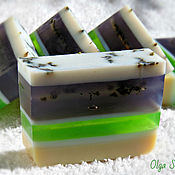 Косметика ручной работы handmade. Livemaster - original item Lavender soap with hints of almond. Handmade.
