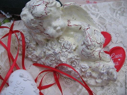 Подарки для влюбленных ручной работы. Ярмарка Мастеров - ручная работа. Купить Ангел. Handmade. Ангел, сувенир, акриловые краски