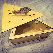 Упаковочная коробка ручной работы. Ярмарка Мастеров - ручная работа Новогодняя коробочка. Handmade.
