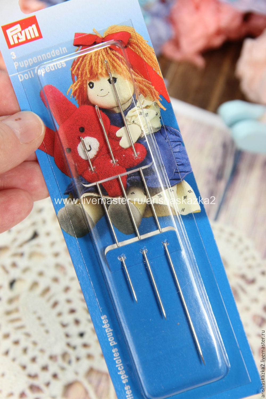 Иглы для игрушек . Набор игл , Материалы для кукол и игрушек, Тула,  Фото №1