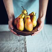 """Посуда ручной работы. Ярмарка Мастеров - ручная работа Тарелка деревянная """"Ганза"""" дуб мореный. Handmade."""